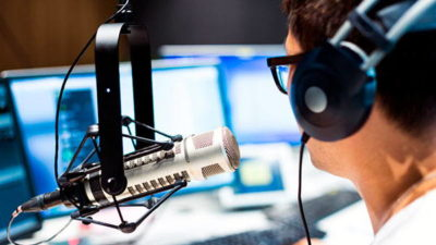 Работа на радио